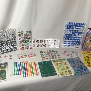 Lot of 16 Sticker Variety Packs